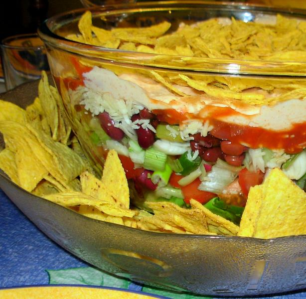 Mexican 7 Layer Salad