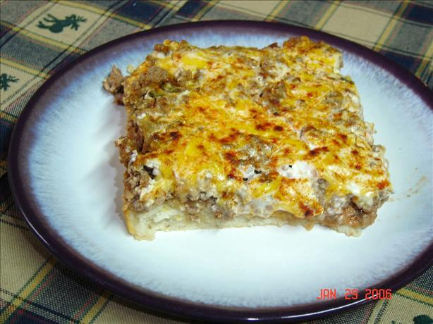 Deep-dish Taco Squares