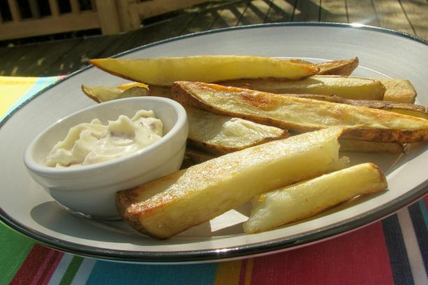 Golden Roasted Potatoes With Chile Mayonnaise