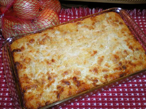 Cornbread Onion Shortcake