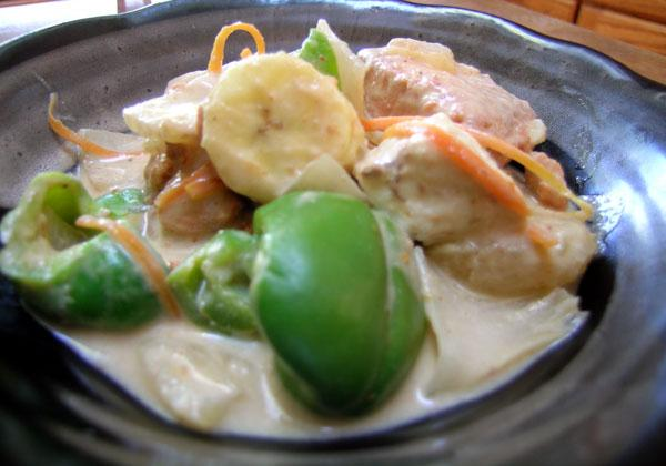 Thai Fish Curry - Kaeng Ped Pla / or Tofu
