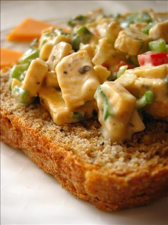 """Tofu """"Chicken"""" Salad"""