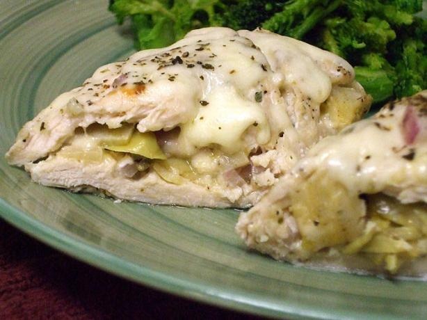 Artichoke-Stuffed Chicken Breasts