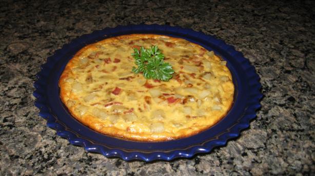 Smoky Potato Alfredo Pie# 5FIX