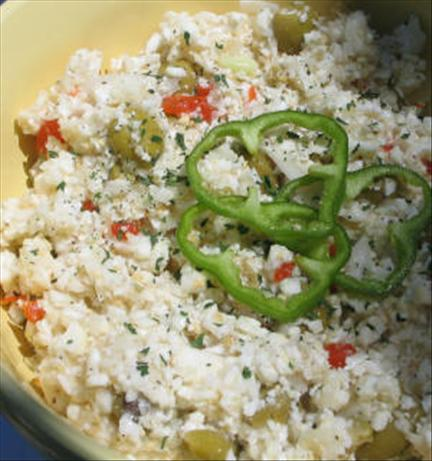 Cauliflower & Green Olive Salad