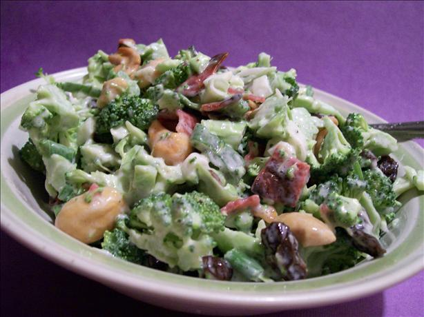 Lick-The-Bowl-Clean Bacon-Broccoli Salad