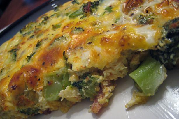 Broccoli Bacon Quiche