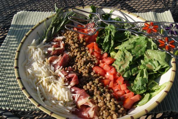 Lemony Italian Salad