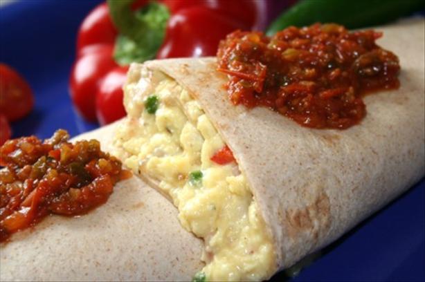 Tortilla Omelet Wrap