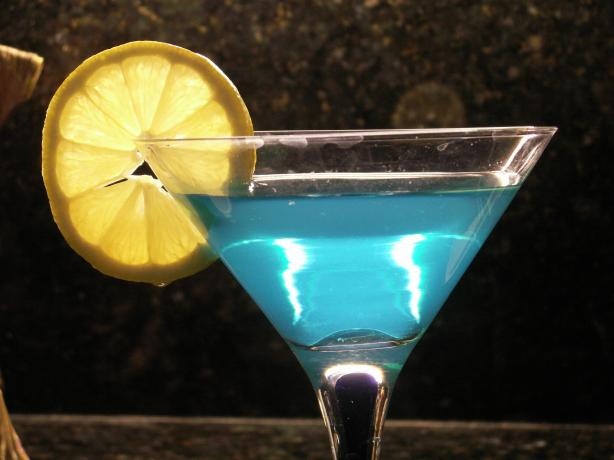 Blue Ball Martini