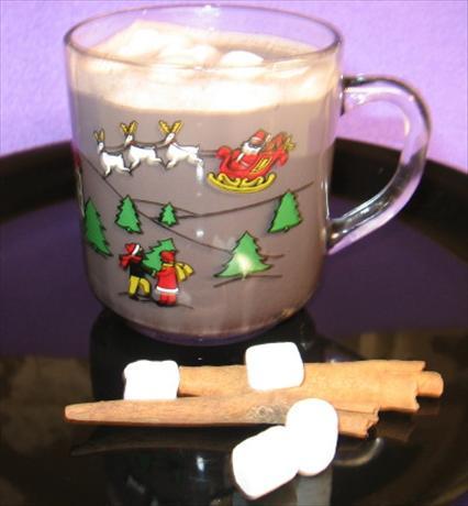 Sinless Dark Chocolate Hot Chocolate