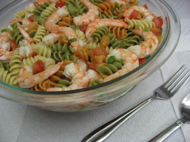Easy Shrimp Pasta Salad
