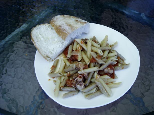 Penne With Roasted Tomatoes & Sauce
