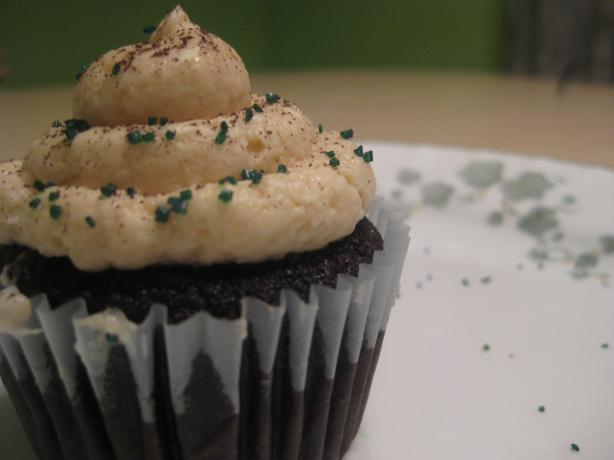 Dangerously Delicious Dark-Chocolate Bailey's Cupcakes