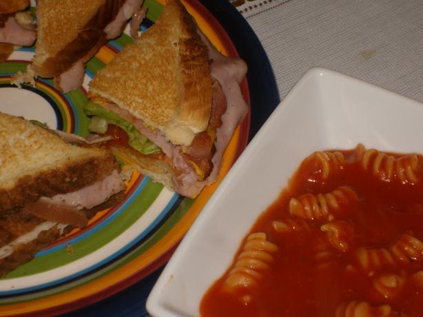 Tomato and Pasta Soup