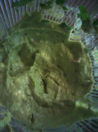 Spring Green Guacamole