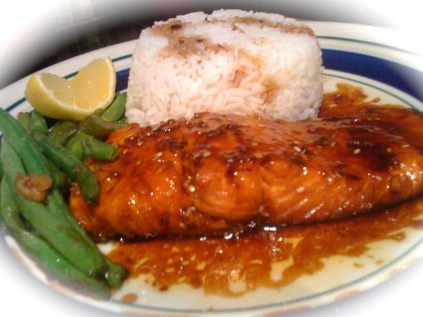 Spicy Salmon Teriyaki With Sesame Oil