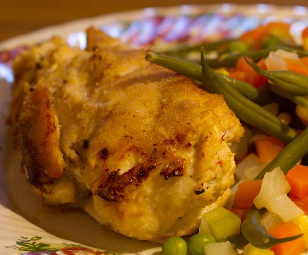 Crab Stuffed, Crumbed, Chicken