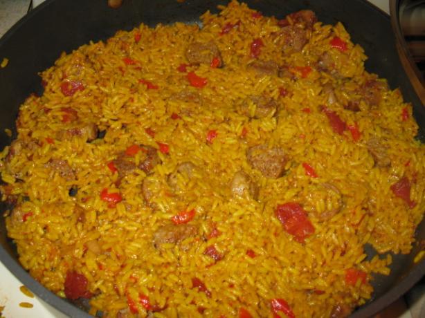 Turkey Sausage Jambalaya