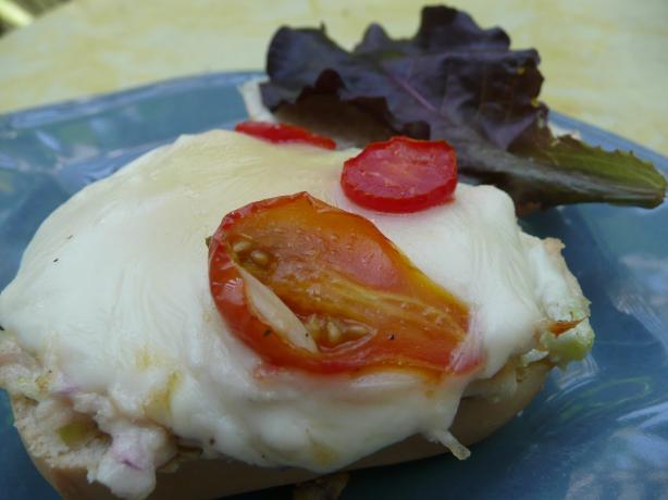 Mozzarella Tuna Melts