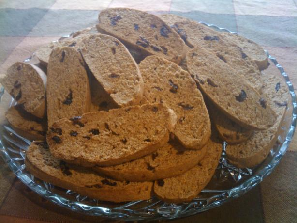 Hearty Whole Wheat Biscotti