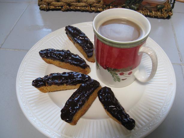 Ultimate Holiday Biscotti (Chocolate Mint Biscotti)