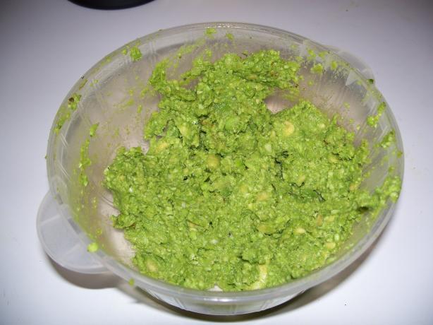 Edabroccamole (aka Edamame, Broccoli, & Avocado Guacamole)