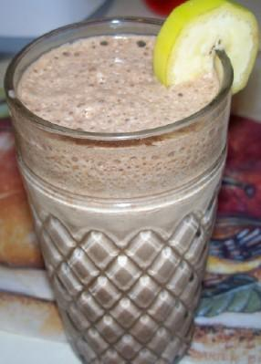 Cappuccino Banana Smoothie