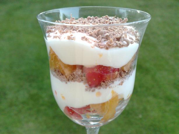 Bourbon Fruit Layer Dessert