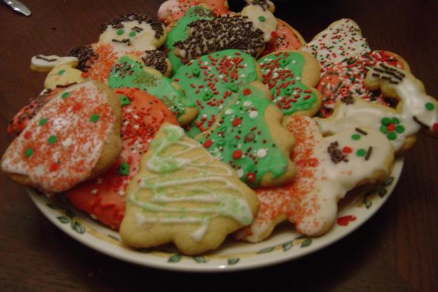 Martha's Blue Ribbon Sugar Cookies - Christmas