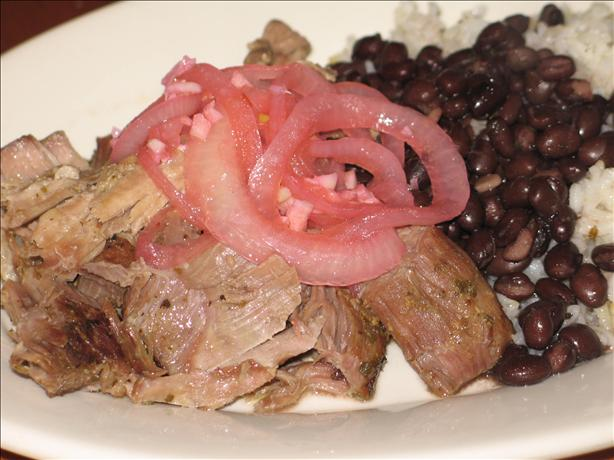 Cuban Roast Pork With Mojo Criollo