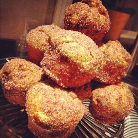 Pumpkin Doughnut Muffins (Martha Stewart)