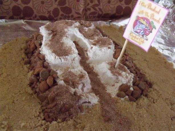 Sand Castle Brownie Mix