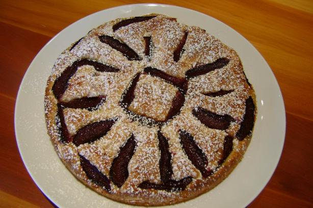 Almond and Plum Tart