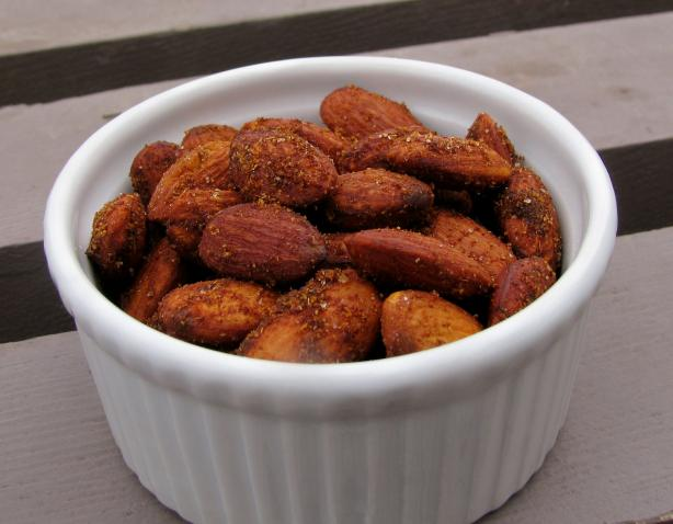 Spanish Spiced Almonds