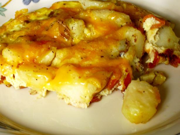 Pork and Potato Frittata