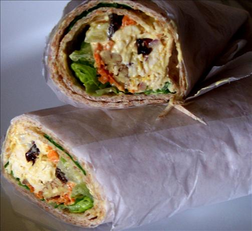 On-The-Go Chicken Salad Wraps