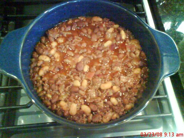 Old Settler's Baked Beans