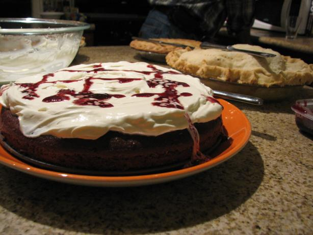 Red Wine Chocolate Cake