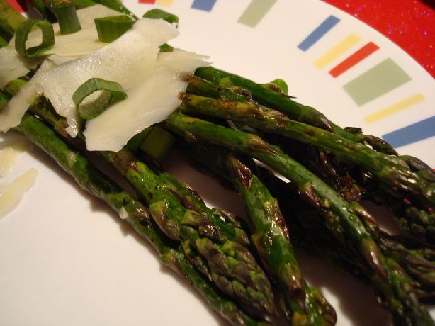 Grilled Asparagus and Asiago Salad