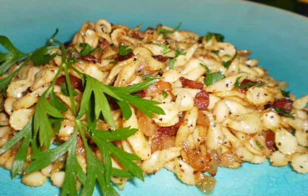 Bacon Onion Spaetzle