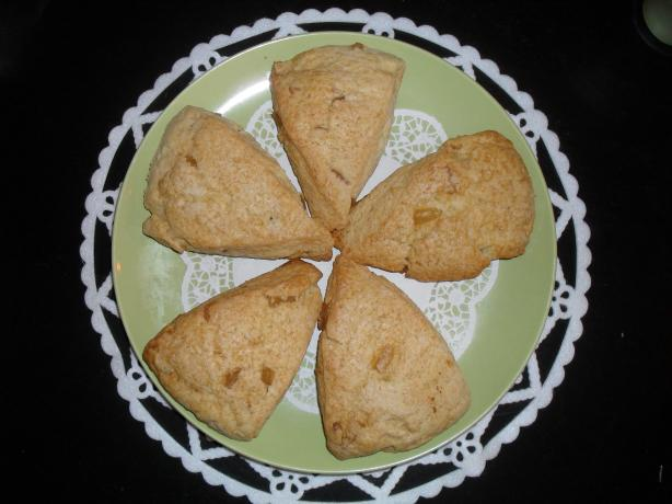 Crystallized Ginger Scones