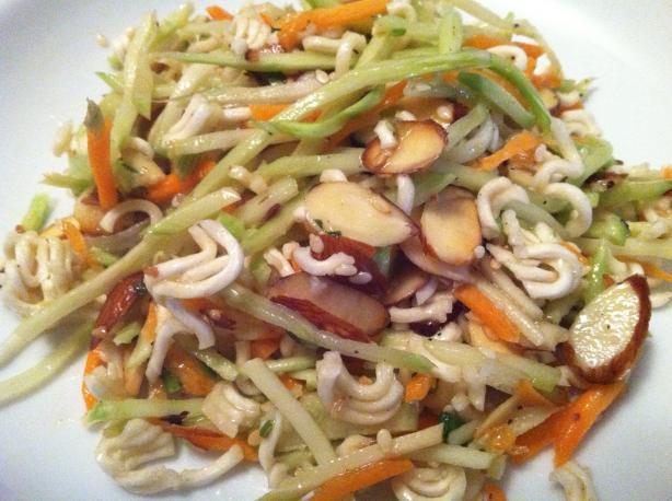 Asian Ramen Coleslaw