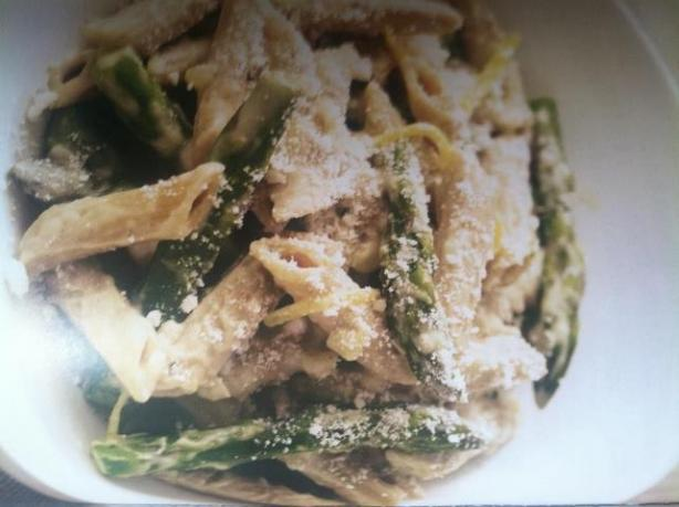 Jaw Droppingly Delicious Asparagus Penne (Rachael Ray)