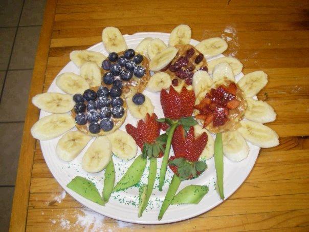 Flower Garden Waffles
