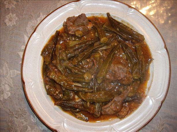 Okra Stew (Arabic Recipe)