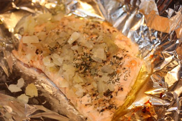 Baked Lemon-Pepper Salmon
