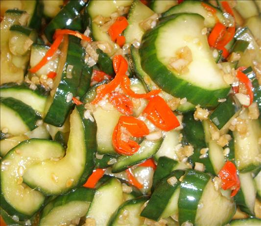 Crunchy Chinese Cucumber Salad