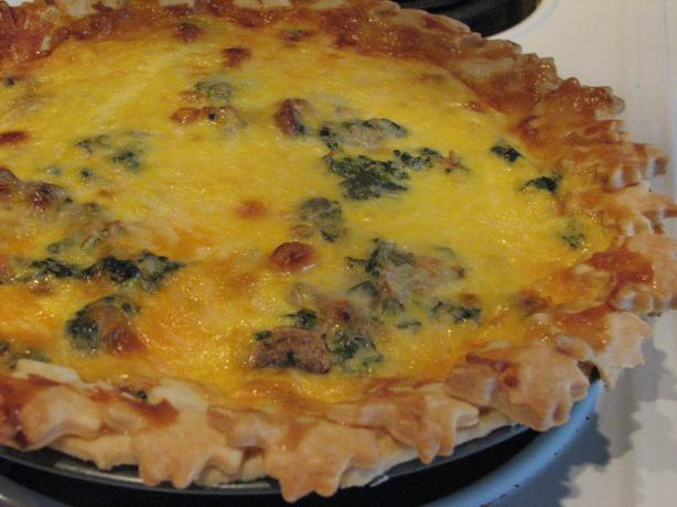 Chicken Quiche Real Men Love