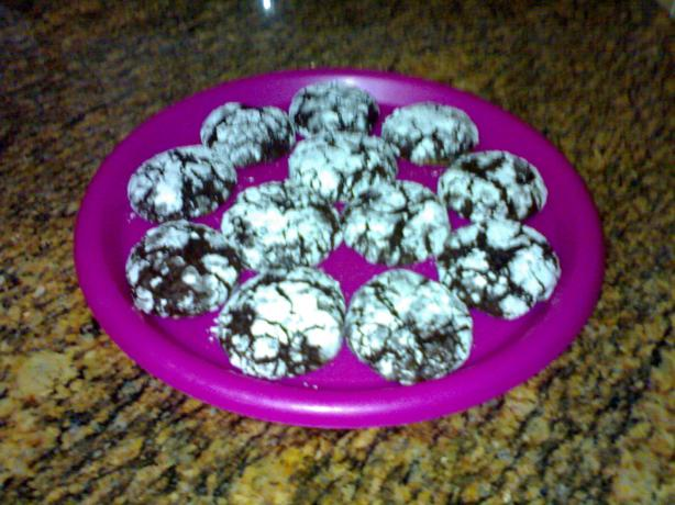 Chocolate Pixies (Modified With Cocoa Powder)